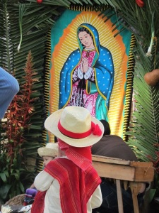 ...the Virgin Guadalupe...