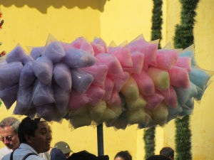 ...lots of cotton candy...