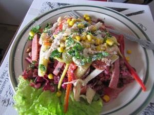 ..a chef salad...