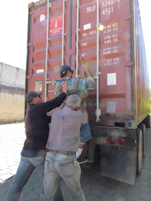 2013 Love Guatemala Container Jan 19 011