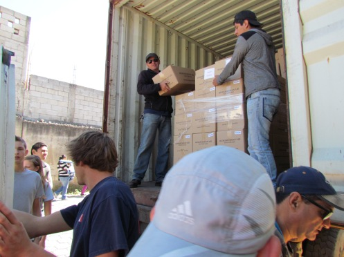 2013 Love Guatemala Container Jan 19 012